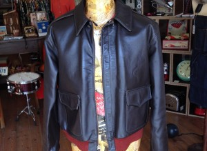 jacket leather A2 01