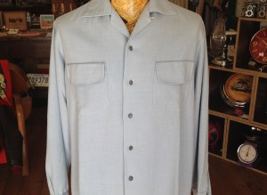 shirt gabardine azzurra 01