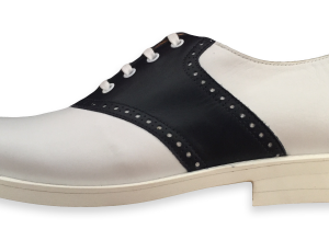 sabble shoes_white sole_blue